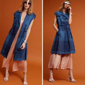 [EVA FRANCO] Anthropologie French Coat Dress